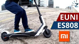 Xiaomi EUNI ES808 Electric Scooter Review! Cheaper than the M365!