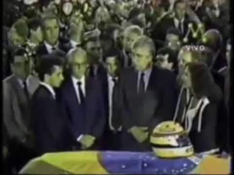 Velório de Ayrton Senna no Jornal da Manchete (1994)
