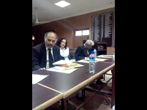 Faisal Hanif ASC Urdu Ghazal (LHCBA Literary Circle)