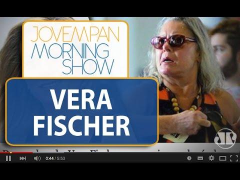 Vera Fischer é flagrada sem maquiagem e Cauã Reymond parte em defesa da atriz | Morning Show