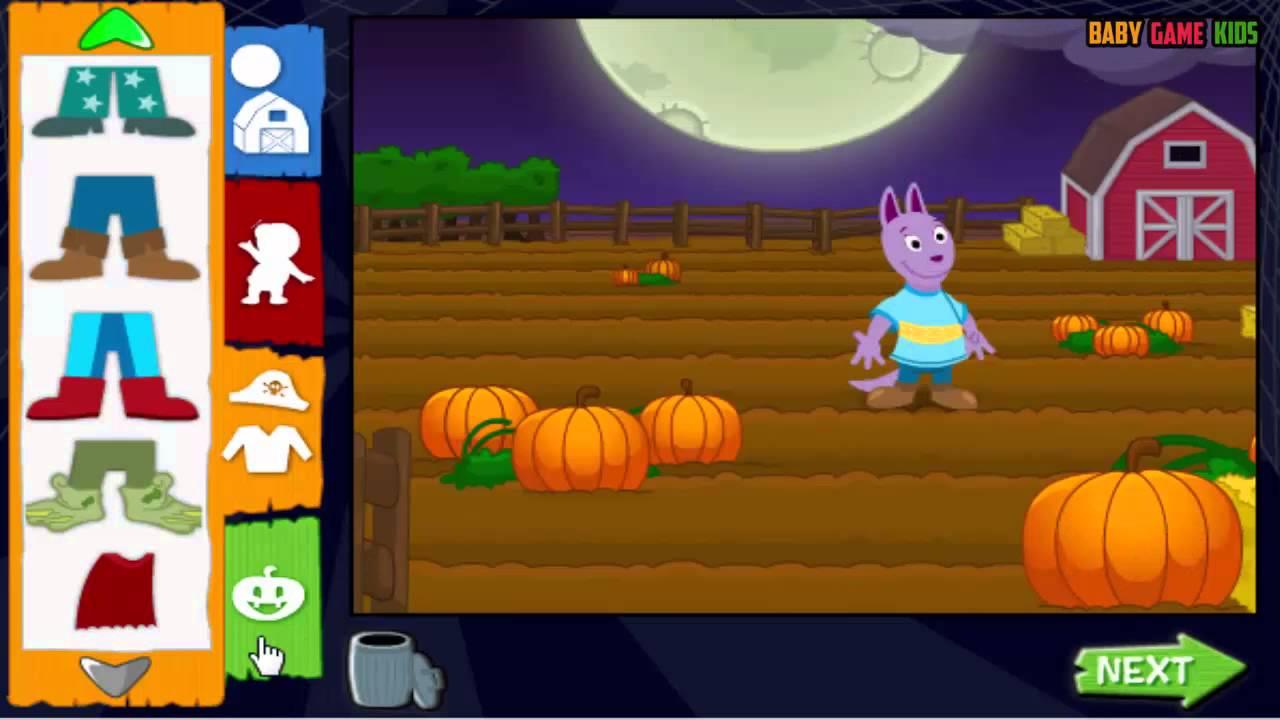 Color game trick - Color Games For Backyardingans Dress Up Game Backyardigans Trick Or Treat Dress Up Full Game