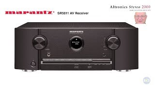 mARANTZ SR5011 7.2 Channel Network Audio/Video Surround Receiver - w/Lawrence Mittler