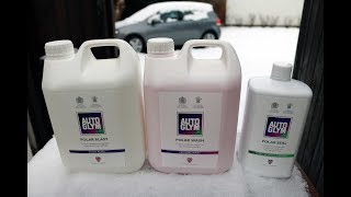 Autoglym Polar Range Review  - Wash & Protect your car with an awesome thick snow foam cannon system