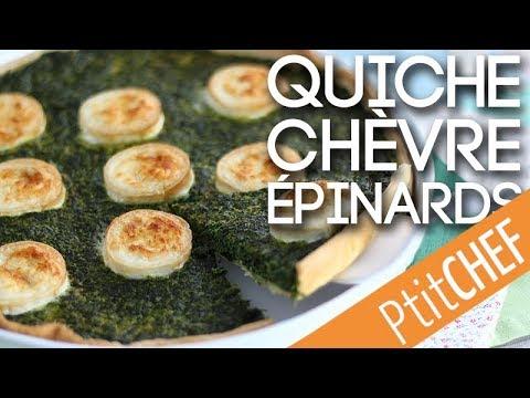 recette-de-quiche-végétarienne-aux-épinards-et-fromage-de-chèvre---ptitchef.com