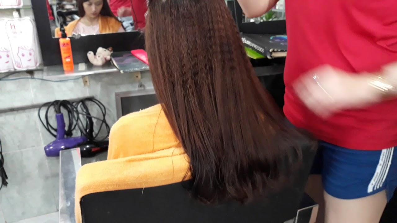 Tìm salon nào bấm tóc đẹp  tại bình chuẩn bình dương sdt 0945851450 HAIR SALON NGÂN TÂM