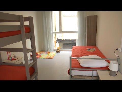 Dans le nouveau centre pour migrants d'Ivry-sur-Seine