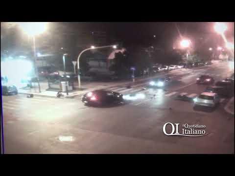 Bari, muore 17enne in moto: il video dello schianto