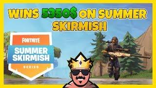 VINNER 48.000KR I FORTNITE SUMMER SKIRMISH DAG 1 | FORTNITE PÅ SVENSKA!