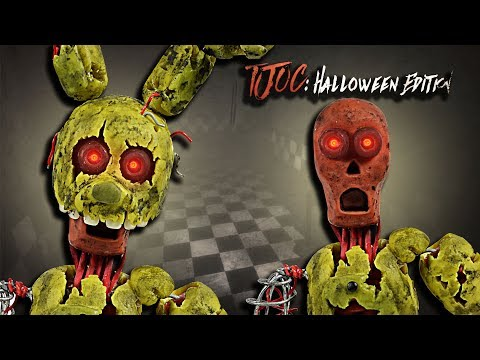 IGNITED SPRINGTRAP (REMOVABLE MASK) ★ TJOC: HALLOWEEN EDITION  ➤Tutorial -Polymer clay ★Air dry clay
