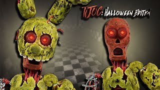 - IGNITED SPRINGTRAP REMOVABLE MASK  TJOC HALLOWEEN EDITION Tutorial Polymer clay Air dry clay