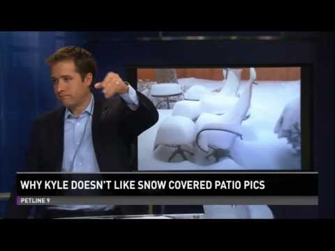 News Anchor Kyle Clark EPIC Rant against Snow-Covered Patio Photos - Colorodo ( BREAKING NEWS)