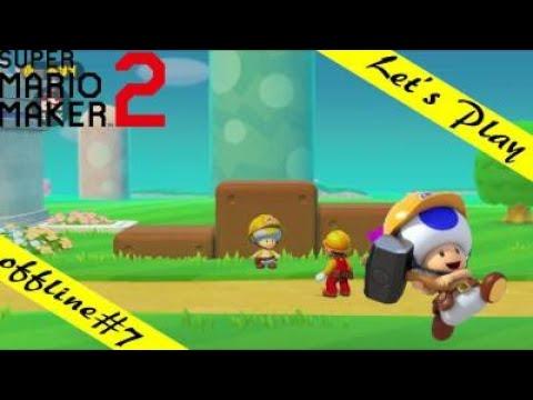 Super Mario Maker 2 #7/ Steine für den gelben Toad!
