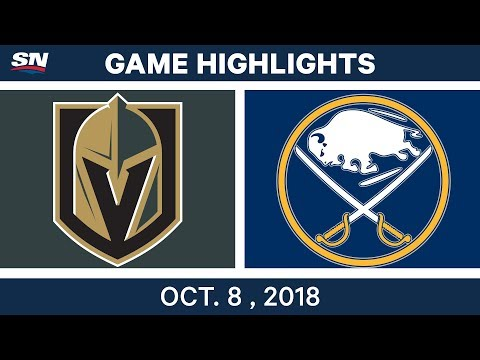 NHL Highlights | Golden Knights vs. Sabres - Oct. 08, 2018