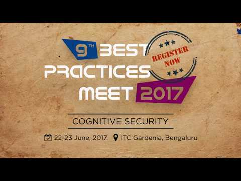 9th Best Practices Meet 2017 Agenda