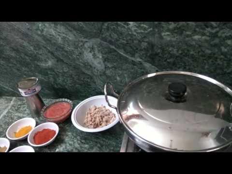 Tuna Fish Spicy Curry.