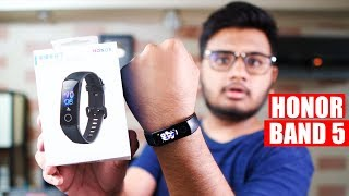 Honor band 5 Unboxing & FIrst Look!
