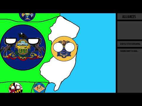 Alternate Future Of New Jersey - Part 1 - Wars