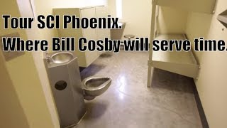 Tour Bill Cosby's prison where he will be serving his time, SCI Phoenix