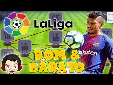 FIFA 18 - Time BOM e BARATO - Liga Espanhola (La Liga)