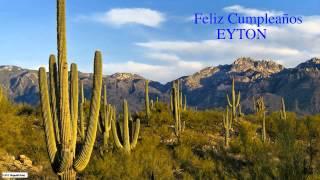 Eyton Birthday Nature & Naturaleza