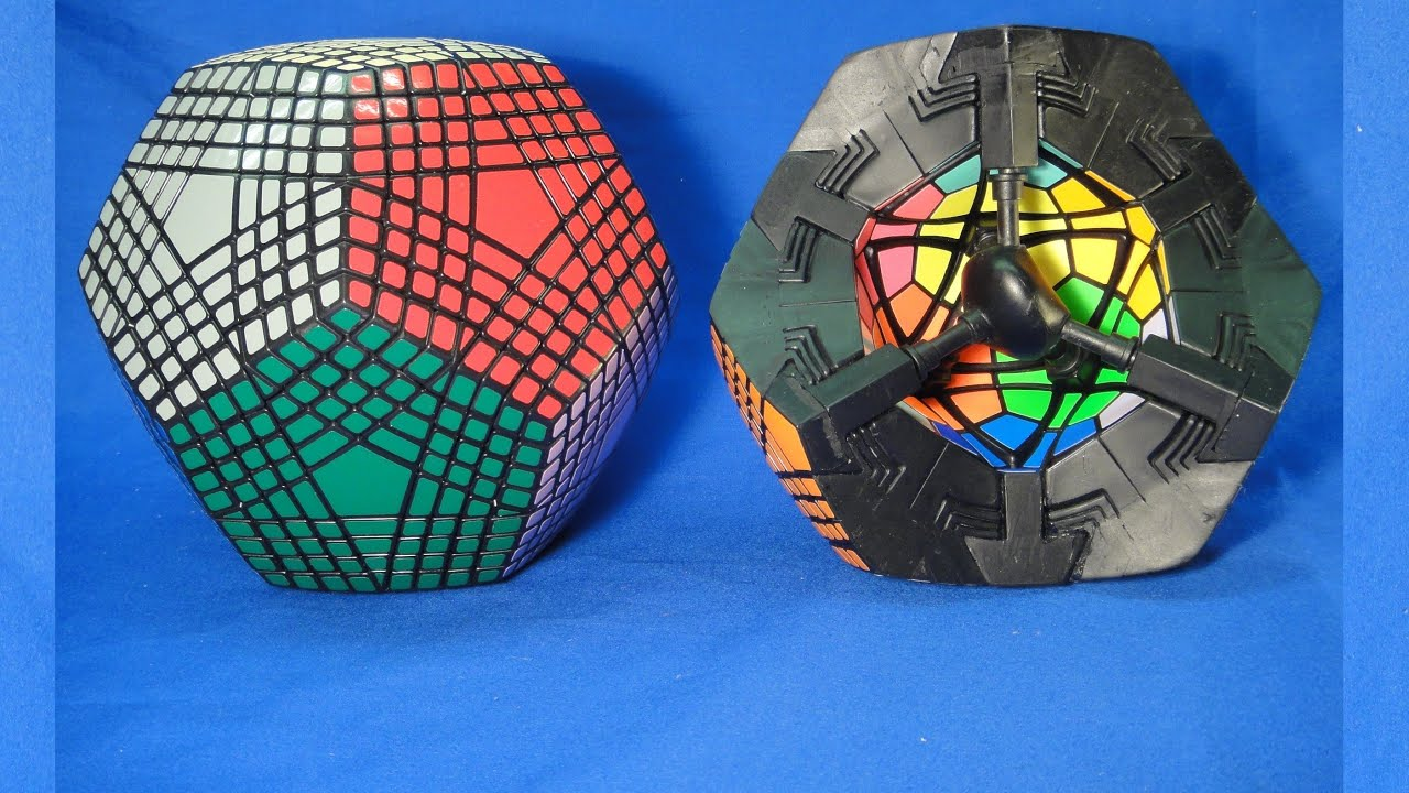 OPEN PETAMINX Puzzle Construction By Tony Fisher YouTube