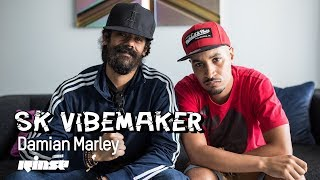 Damian Marley speaks legalising cannabis, new music with Nas and more with SK Vibemaker