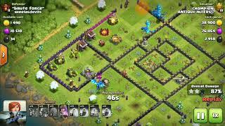 Electro dragon attack on th11