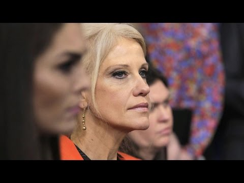"""Kellyanne Conway """"counseled"""" for promoting Ivanka Trump brand"""