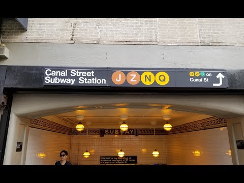 MTA New York City Subway: A Tour Of The Canal Street Station
