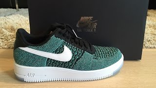 half off 6db36 aa184 Nike Air Force 1 Flyknit Low - Unboxing  amp  ...