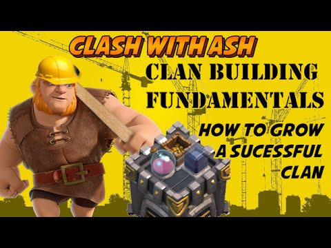 Clash Of Clans | 5 Tips for Building the BEST CLAN EVER!!