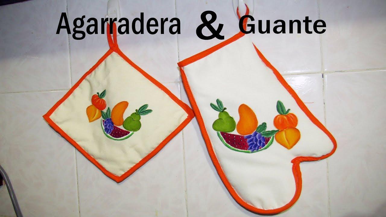 Juego de cocina | Guante y Agarradera | Paso a paso - YouTube