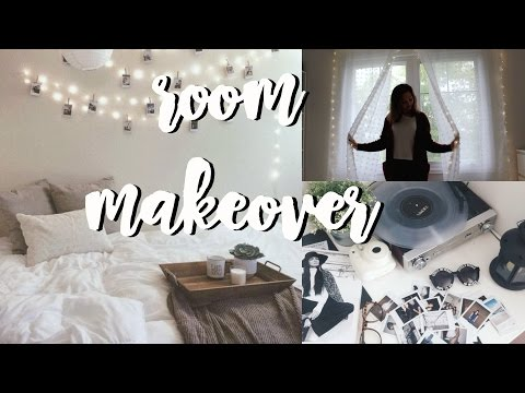 Room Makeover + How to Put up Fairy Lights    Vanessa Tiiu
