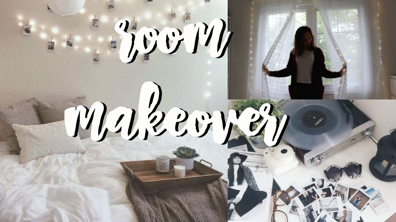 Room Makeover How To Put Up Fairy Lights Vanessa Tiiu