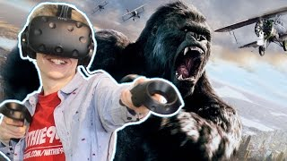 KING KONG SIMULATOR IN VIRTUAL REALITY! | Mighty Monster Mayhem VR (HTC Vive Gameplay)