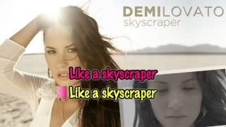 Demi Lovato-Skyscraper (Karaoke)