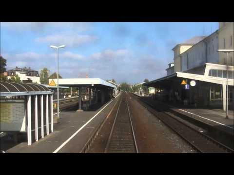 REARWIEV / Mittfahrt : Bahnstrecke Hof - Weiden - Schwandorf - Regenesburg [ 10.2014 ]