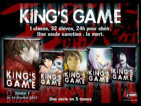 Revue Manga [Episode 1] : King's Game - YouTube