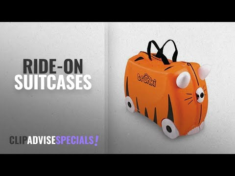 """30% Off Trunki Ride-on Suitcases: Trunki Ride-On Suitcase: """"Tipu"""" Tiger print"""