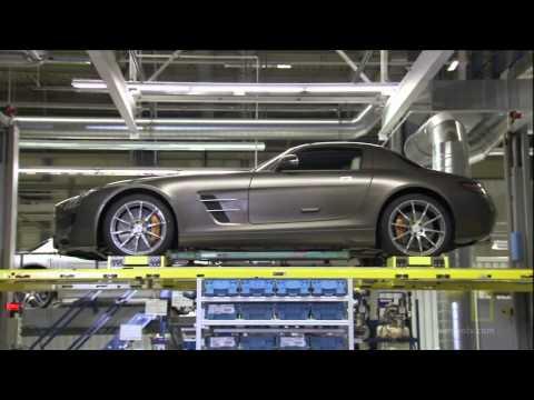 Ultimate Factories   Mercedes Benz SLS AMG 1 4