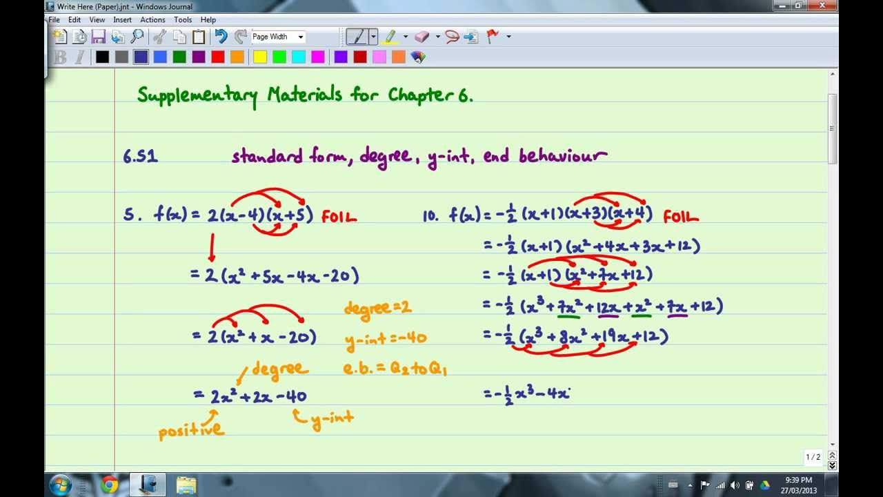 Foundations Of Mathematics 12
