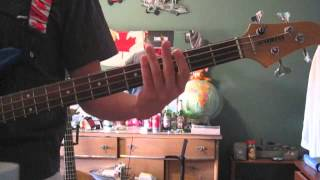 Rise Against Zero Visibility Bass Cover With Tabs