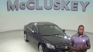 R97754JP Used 2010 Chevrolet Malibu LT FWD 4D Sedan Blue Test Drive, Review, For Sale -