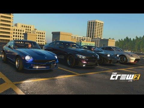 "The Crew 2 | Import Squad Car Meet - 513HP ""Devil Z"" Z432 Build | Highway Rolls/Digs w/ RX7, 370Z, +"