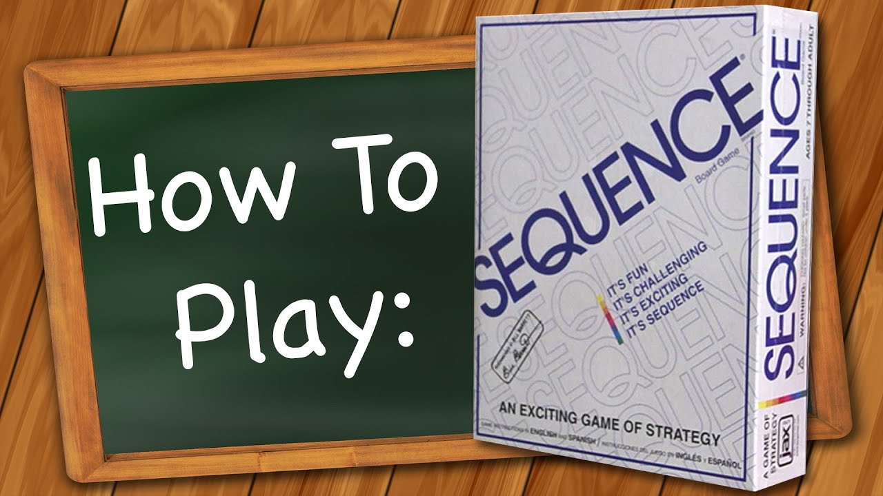 How To Play Sequence Youtube