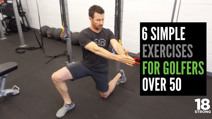 6 simple exercises for golfers over 50