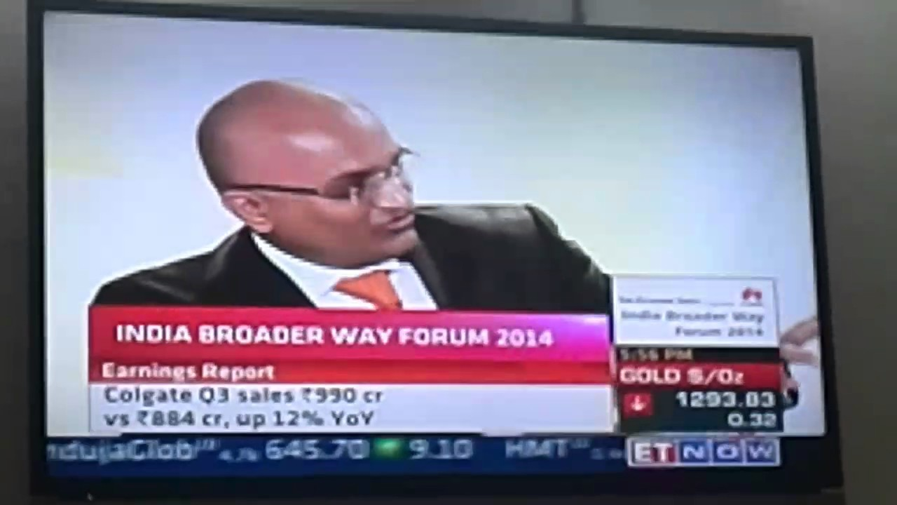 SAMEER RAWAL of Huawei India on CNBC business news channel