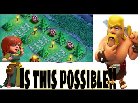 Most amazing decoration in clash of clans||Most unique base layout in COC ever