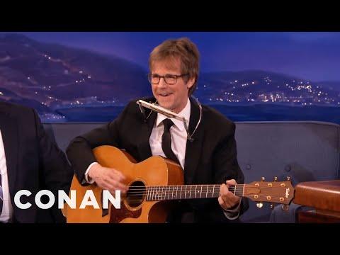 Dana Carvey's Neil Young Sings The Flugelbone Song  - CONAN on TBS
