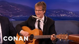 Dana Carvey's Neil Young Sings The Flugelbone Song  - CONAN on TBS